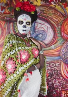 «Frida Kahlo» de Yari crochet : La Catrina